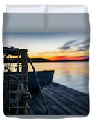 The Fisherman's Life Duvet Cover