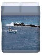 The Fishing Boat Duvet Cover