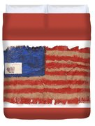 The Flag Duvet Cover