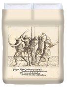 The Flagellation Duvet Cover