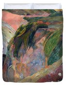 The Flageolet Player On The Cliff Duvet Cover