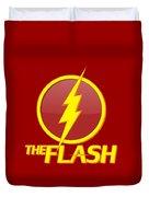 The Flash Logo Duvet Cover