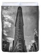 The Flatiron Building Nyc Duvet Cover