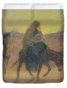 The Flight Into Egypt  Duvet Cover