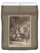 The Flight Into Egypt: Small Duvet Cover