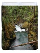 The Flow Of It All  Duvet Cover