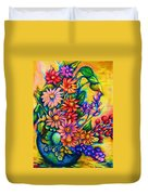The Flower Dance Duvet Cover