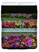 The Flower Field Duvet Cover