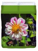 The Flower Keeper Duvet Cover