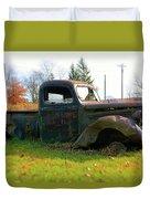 The Flower Truck Duvet Cover