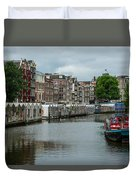 The Flowermarket Canal Duvet Cover