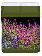 The Flowers And The Bees Duvet Cover