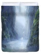 The Flowing Of Time Duvet Cover