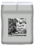 Old John Bradgate Park Duvet Cover by John Edwards