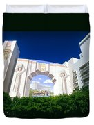 The Fontainebleau Hotel Duvet Cover