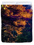 The Forest At Dusk Duvet Cover