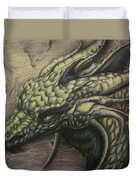 The Forest Dragon Duvet Cover