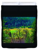 The Forest Echoes With Laughter 2 Duvet Cover