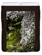 The Forest Floor Bluestone State Park West Virginia Duvet Cover