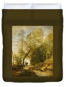 The Forest Of Coubron Duvet Cover