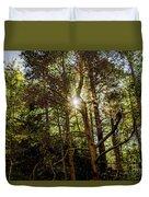 The Forest Sun Duvet Cover