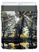 The Forests Of Avalon Duvet Cover