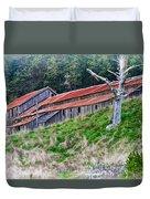 The Forgotten Barn Duvet Cover