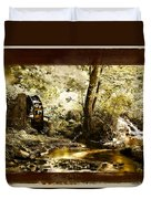The Forgotten Watermill Wheel Duvet Cover