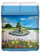 Gushing Fountain Duvet Cover