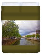 The Four Courts In Reconstruction 3 Duvet Cover