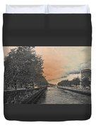 The Four Courts In Reconstruction 3 V4 Duvet Cover