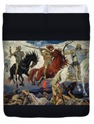 The Four Horsemen Of The Apocalypse Duvet Cover