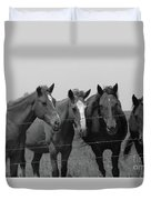 The Four Horses Duvet Cover