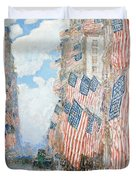 The Fourth Of July Duvet Cover by Childe Hassam