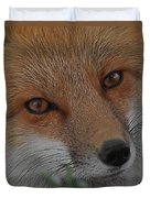 The Fox 4 Upclose Duvet Cover