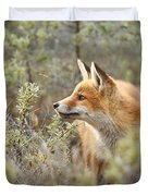 The Fox And Its Prey Duvet Cover