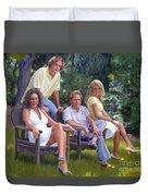 The Fraum Family Duvet Cover