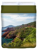 The French Riviera  Duvet Cover