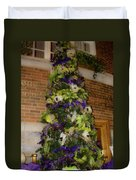 The French Thistle Tree Fashions For Evergreens Hotel Roanoke 2009 Duvet Cover