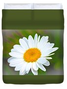 The Friendliest Flower Duvet Cover
