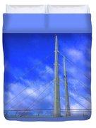 The Frienship Bridge Duvet Cover