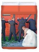 The Frisky Bride Duvet Cover