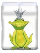 The Frog King Duvet Cover