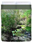 The Frog Pond Duvet Cover
