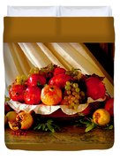 The Fruits Of Caravaggio Duvet Cover