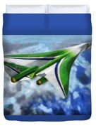 The Future Of Air Transportation Duvet Cover