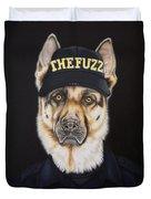 The Fuzz Duvet Cover