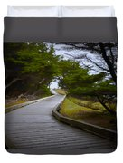 The Fuzzy Path To Nowhere Duvet Cover
