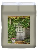 The Garden Door - V Duvet Cover