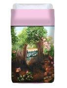 The Garden Gate Duvet Cover